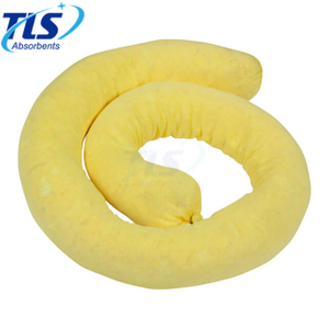 20CM x 3M Spill Control Chemical Yellow Absorbent booms Perfect for Acids
