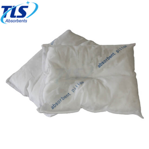 54L Classic Oil-only Absorbent Pillows Meltblown Polypropylene for Oil Spill Containment