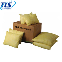 90L Yellow Absorbent Hazmat Pillows 100% Polypropylene