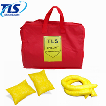 Yellow Color Chemical Absorbent Spill Kits for Chemical Spill Control