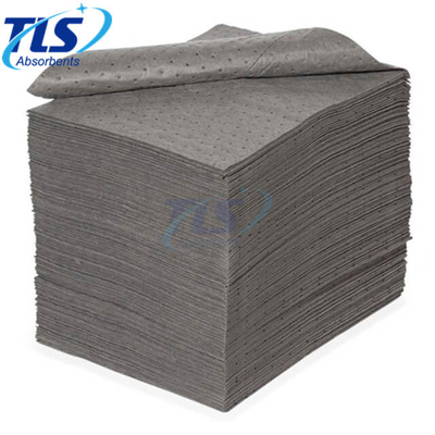 Light Weight Reusable Grey Perforated Universal Absorbent Pads