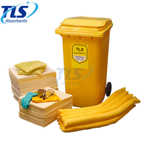 240L Wheeled Chemical Spill Kit for Laboratory