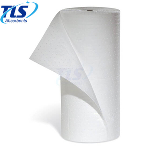 Marine White Oil Absorbent Mats Rolls For Oil Water Separation