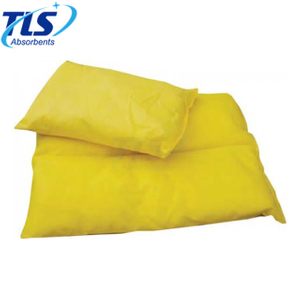 25cm x 35cm Chemical Absorbent Pillows for Hazchem Spills in Yellow Color