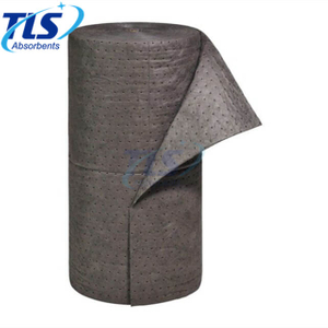 PP Dimpled Universal Fuel Absorbent Rolls For Spills 80cm*50m*7mm