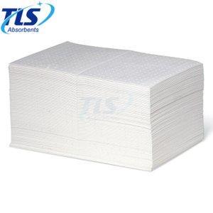 4mm White Polypropylene Oil Absorbent Pads