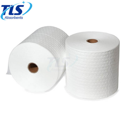 White Oil Absorbent Rolls For Industry 40cm*50m*3mm