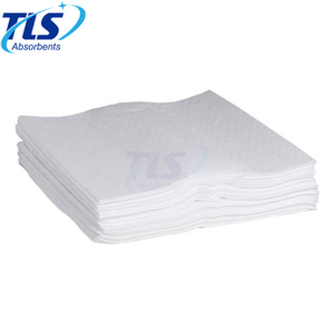 Dimpled Polypropylene Floating Oil Dry Absorbent Pads