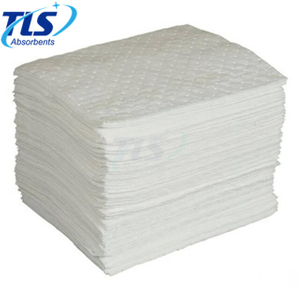 3mm Plain White Oil Absorbent Pads For Oil Spills