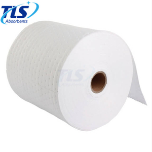 Oil And Fuel Absorbent Rolls For Hydrocarbon Spills 80cm*50m*3mm