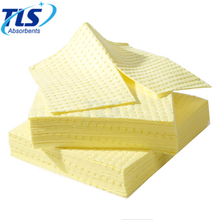 4mm Yellow Absorbents Pads For Chemical Factory