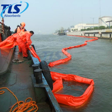 Offshore Solid Float PVC Oil Containment Boom For Oil Spill