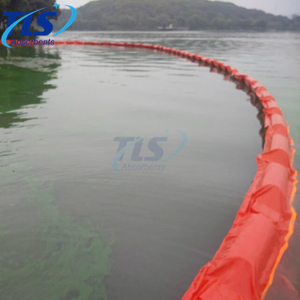 Solid-Floatation Orange PVC Oil Containment Spill Control Boom