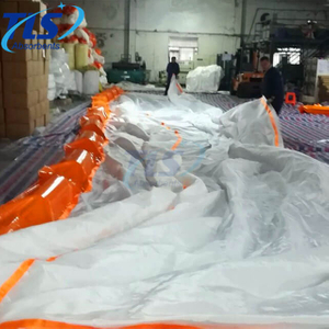 Heavy duty floating silt curtain for For Dredging Projects