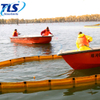 Orange Marine Spill Containment Fence Boom For Sheltered Waters