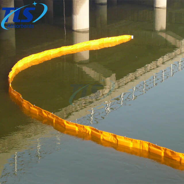 Reusable Floating Oil Spill Fence Boom For Oil Pollution Response