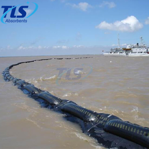 Oil Spill Red Color Inflatable Rubber Containment Boom